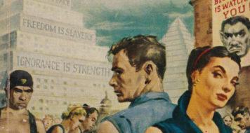 Capa da edição de 1960 do romance '1984', de George Orwell (Signet Books/ Reprodução)