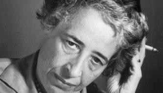 Hannah Arendt nos anos 1960 (Foto: Bettmann/CORBIS)