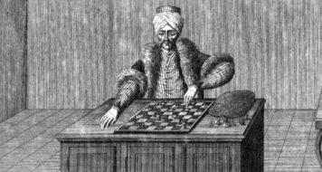 Autômato jogador de xadrez do século 19 que inspirou Benjamin em uma de suas teses (Reprodução)
