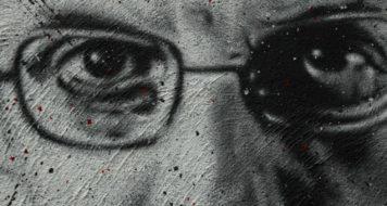 Grafite retratando Michel Foucault (Reprodução/ Organ Museum)