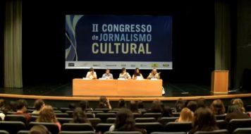 """Mesa """"Crítica literária e os novos escritores"""" durante o II Congresso de Jornalismo Cultural (TV CULT)"""