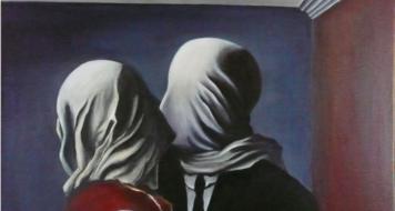 'Os amantes', de René Magritte (1928)