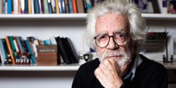 O cineasta Eduardo Coutinho (Guillermo Giansanti/Divulgação)