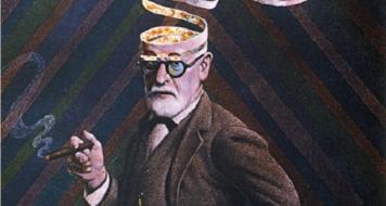Sigmund Freud (Ilustração Don Ivan Punchatz /Reprodução)