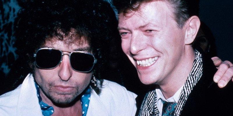 Dylan e Bowie, o yin e o yang