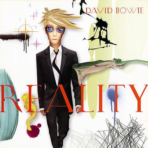 """Reality (2003): Um dos mais aclamados desde """"Scary Monsters"""", de 1980, Reality foi bem recebido pela crítica e, especialmente, pelos fãs"""
