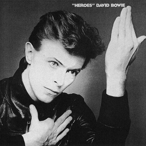 """Heroes (1977): É o segundo disco da """"Trilogia"""", o único gravado inteiramente em Berlim"""