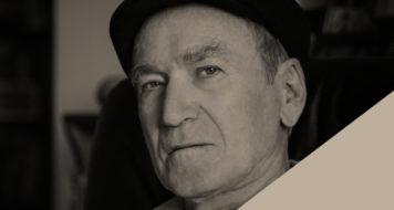 O escritor Bernardo Kucinski (Foto Carolina Ribeiro / Arte Revista Cult)