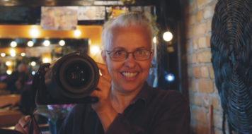 A fotógrafa Lenise Pinheiro (Foto Lenise Pinheiro / Divulgação)