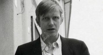 O poeta alemão Thomas Kling (Divulgação)
