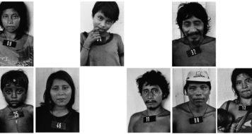Vertical 9 da série Marcados 1980-1983, Claudia Andujar / Galeria Vermelho, São Paulo