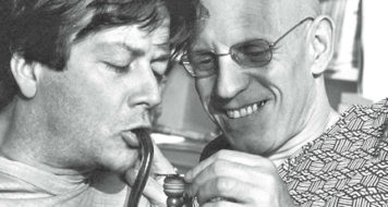 Daniel Defert e Michel Foucault (Reprodução)