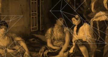 Eugène Delacroix, Mulheres de Argel em seu apartamento, 1834 (Arte Revista Cult)