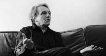 O filósofo Jacques Rancière (Foto Lana Lichtenstein)