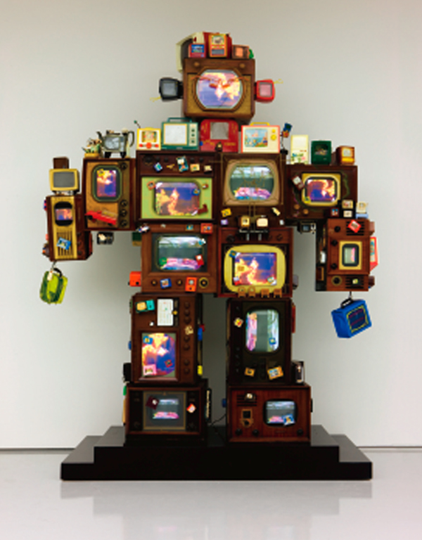Nam June Paik. TV is Kitsch, 1996