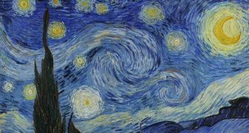 """""""Não há fantasmas nos quadros de Van Gogh?"""", conduz‑nos Derrida ao tema do espectro ('Noite estrelada', quadro de Vincent Van Gogh, 1889)"""