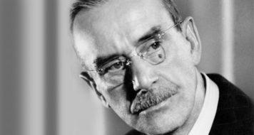 O escritor alemão Thomas Mann e sua representação da realidade (Reprodução)