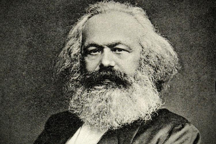 O pensador alemão Karl Marx