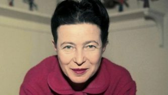 A filósofa francesa Simone de Beauvoir (Sipa Press/Rex Feature)