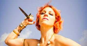 A cantora Karina Buhr (Foto Priscilla Buhr/Divulgação)
