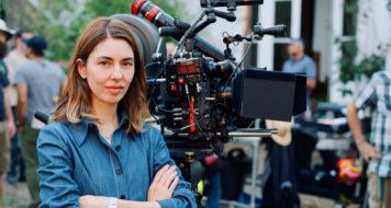 A diretora Sofia Coppola no set de 'O estranho que nós amamos' (Reprodução)