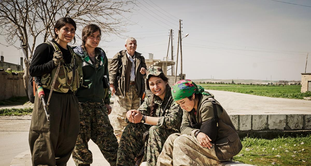 O feminismo libertário na Revolução Social Curda