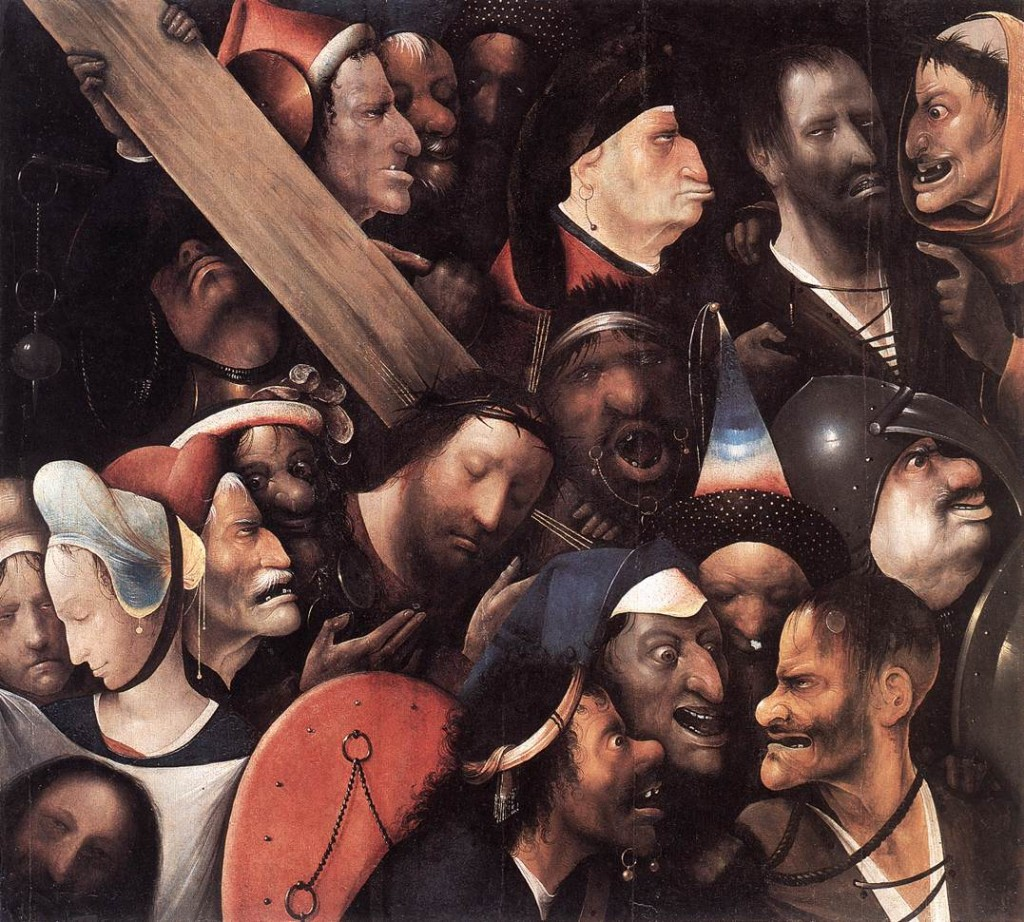 Jeronimus Bosch. Cristo carregando a Cruz, cerca de 1500.