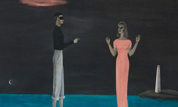 The Courtship, de Gertrude Abercrombie, 1949
