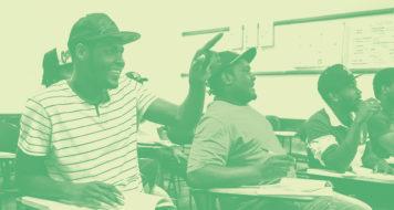 Haitianos concluem curso de língua portuguesa oferecido pela rede municipal de ensino de Curitiba (Foto Maurilio Cheli / SMCS)