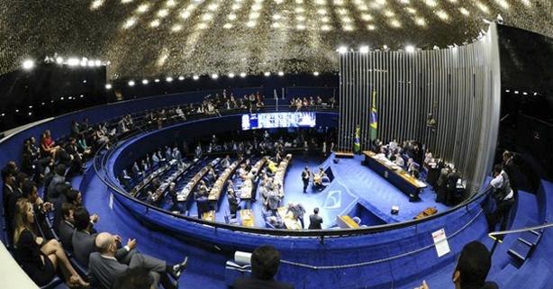 Julgamento do processo de impeachment no Senado, na segunda (29)