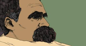 Nietzsche em HQ, com texto de Michel Onfray e arte de Maximilien Le Roy (Reprodução)