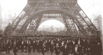 Imagem da Exposição Universal de Paris, em 1900 (Foto Alphonse Liébert / Domínio Público)