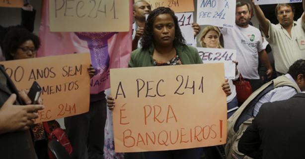 PEC 241: golpe contra a democracia e direitos sociais