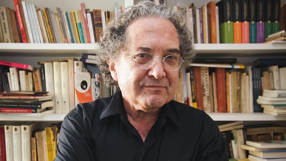 O escritor argentino Ricardo Piglia, que morreu nesta sexta (6), em Buenos Aires