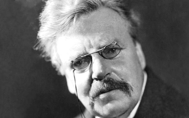 O escritor, historiador e jornalista G. K. Chesterton (Foto: reprodução)