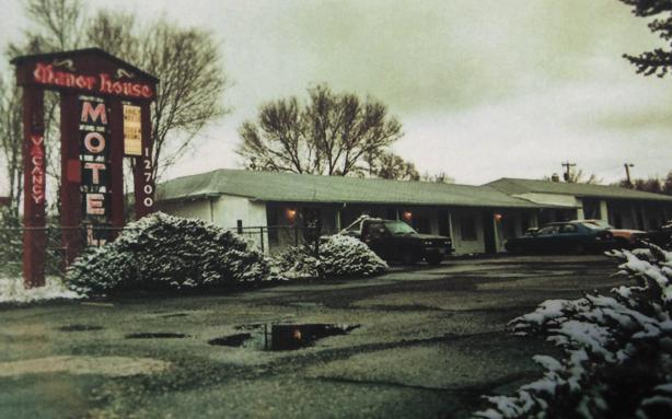 Manor House Motel, em 1960 (Foto: Reprodução)