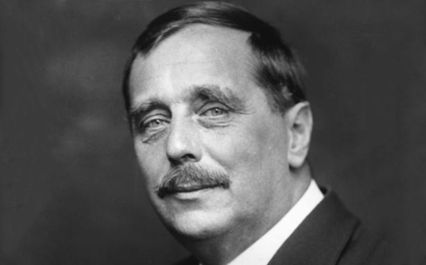 O escritor, pai da ficção científica, H. G. Wells (Foto: reprodução)