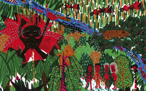 Ilustração de Mariana Zanetti para a nova edição de Macunaíma