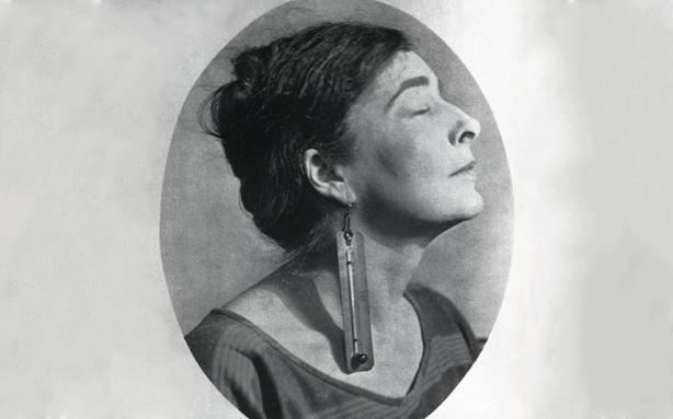 A escritora e artista visual Mina Loy (Foto: Man Ray)