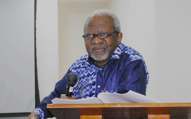 O filósofo costa-marfinense Paulin Hountondji (Foto: Reprodução/ Unilab)
