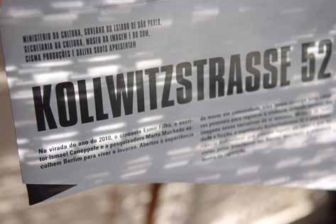 Kollwitzstrasse 52, nós e o Outro