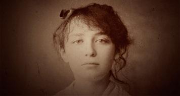 Camille Claudel em 1884 (Foto: Reprodução)