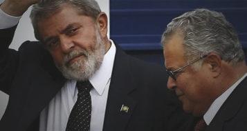 Lula e Emílio Odebrecht (Foto: Reprodução/Redes Sociais)
