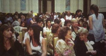 Celebração pelos 20 anos da Lei da Cotas para Mulheres, instituída na Argentina em 1991 (Foto: Patricia Rangel/Partido Frente Grande de La Republica Argentina)