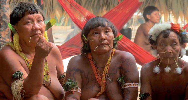 Povo Yanomami em Roraima (Foto: Lidia Montanha Castro / ISA)