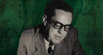O historiador Sérgio Buarque de Holanda (Arte Revista CULT)