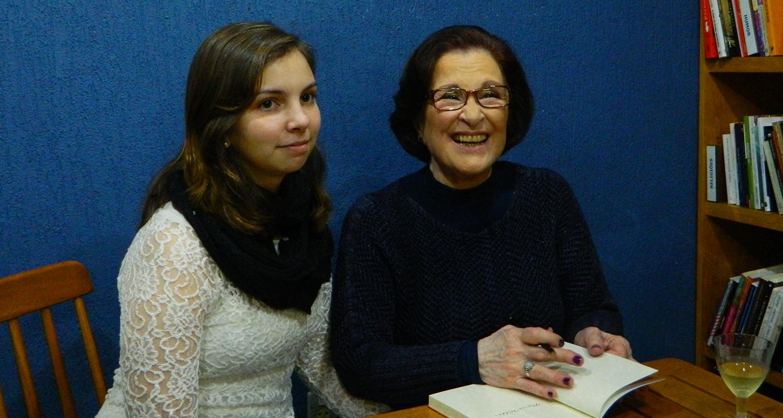 A escritora Suzana Albornoz