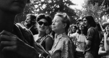 A filósofa Simone de Beauvoir (Divulgação)