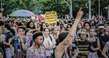Caminhada Lésbica e Bissexual em Sâo Paulo (Divulgação)