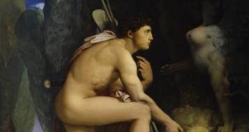 Jean Auguste-Dominique Ingres, Édipo e a Esfinge, 1808-25